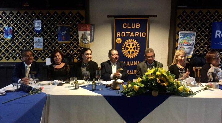 Visita del Gobernador al Club Tijuana Agua Caliente